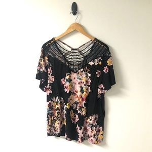 Maurice's Floral Blouse